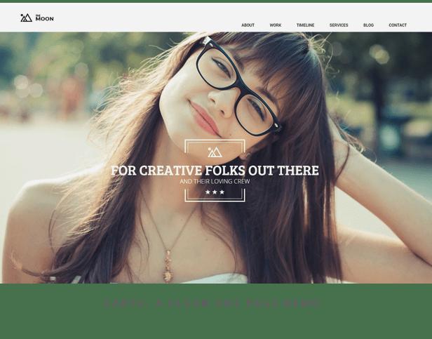 The Moon - Creative One Page Multi-Purpose Theme - 3
