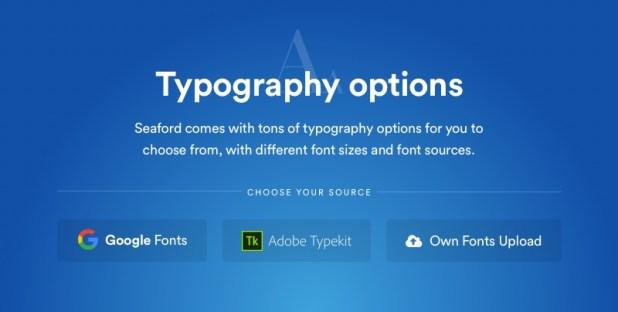 Avena Typography Options