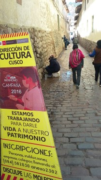 Por las calles de Cusco