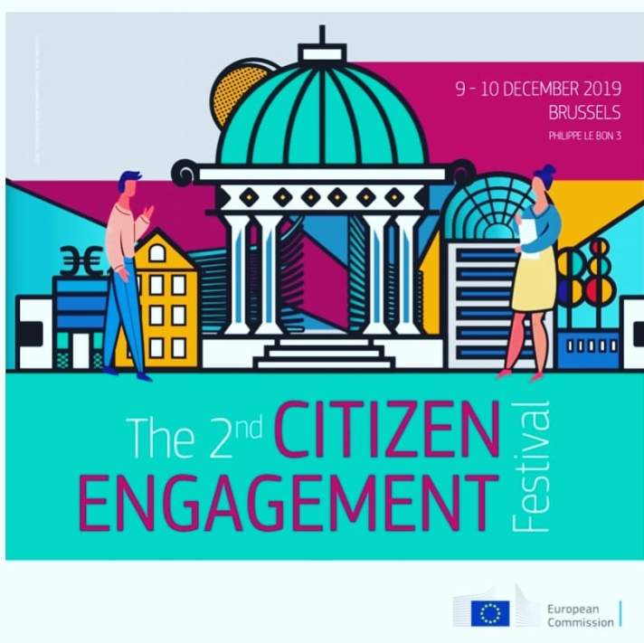 Democracy 4.0 has a stand in  awesome #EUCitizenEngagement Festival in Brussels 😎  Come and talk to Citizen K, ask your questions about Democracy 4.0 😃  #AR #AugmentedReality #citizenengagement #democracy #europeancommission #eu #Brussels #CitizenK #future #exhibition