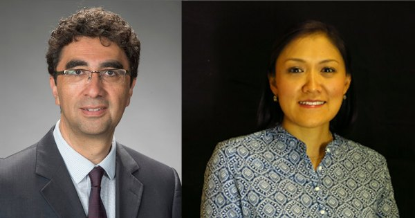 Guillermo Trejo and Sandra Ley