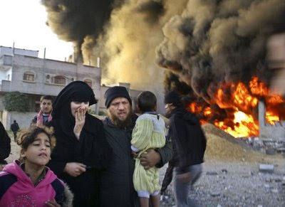 bombarderos israelitas