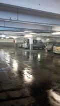 Parking Charras inondé