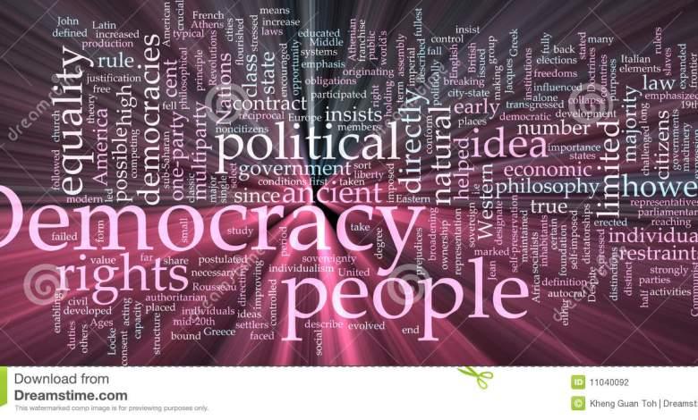 تاريخ الديمقراطية حكم القوانين لا حكم الاشخاص المركز الديمقراطي العربي