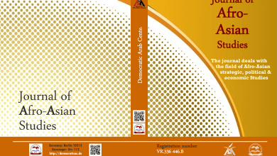 Photo of Journal of Afro-Asian Studies : Sixth issue – July 2020