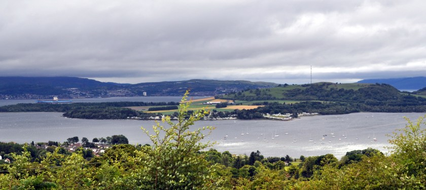 Rosneath Peninsula pictured from Helensburgh by Bill Heaney