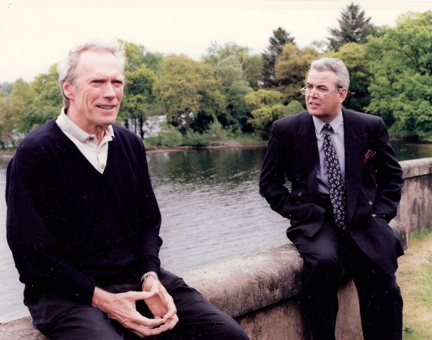 Clint Eastwood and Bill at CH