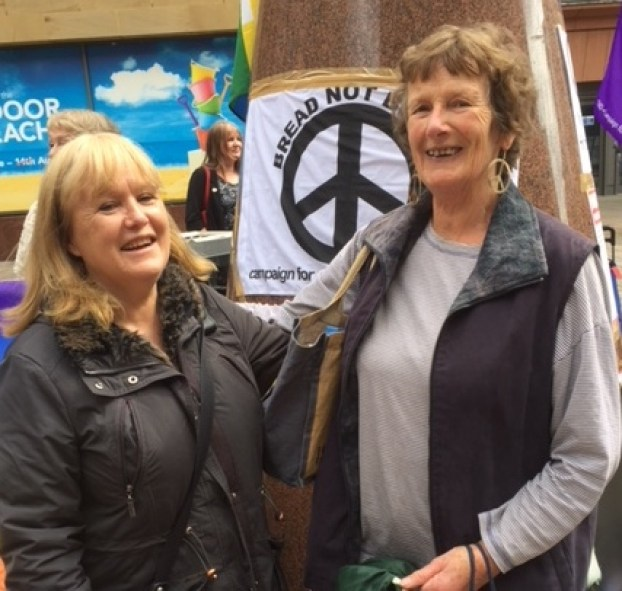 CND Molly Harvey (right) and Tricia McConalogue MBE 2