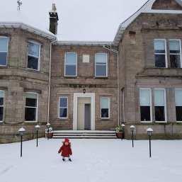 Snowjane Islay Kerr House at Kirktonhill by Carolynn Bowman