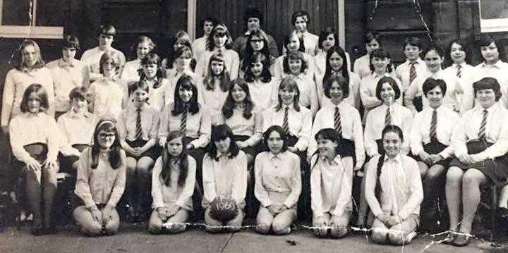 Academy netball players 1969 1