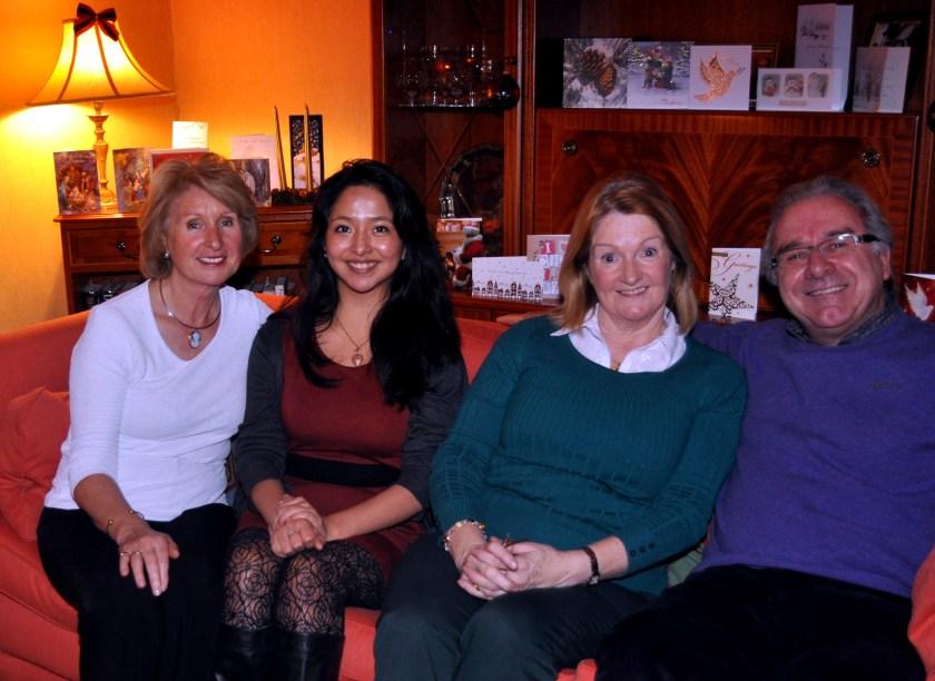 Rita with Nina Bernie and Stephen