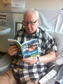 Tom Monaghan reading my Connemara book