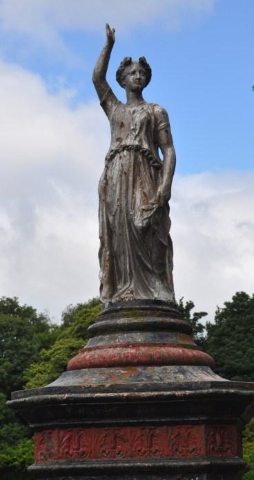 Christie Park statue