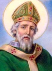 Saint Patrick head and shoulders