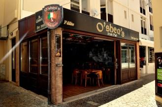 Algarve - O'Shea's Irish bar near the marina in Vilamoura