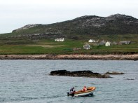 Stena Line - boating off Owey Island in County Donegal