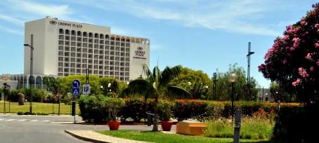 Algarve - the Crowne Plaza five-star resort in Vilamoura