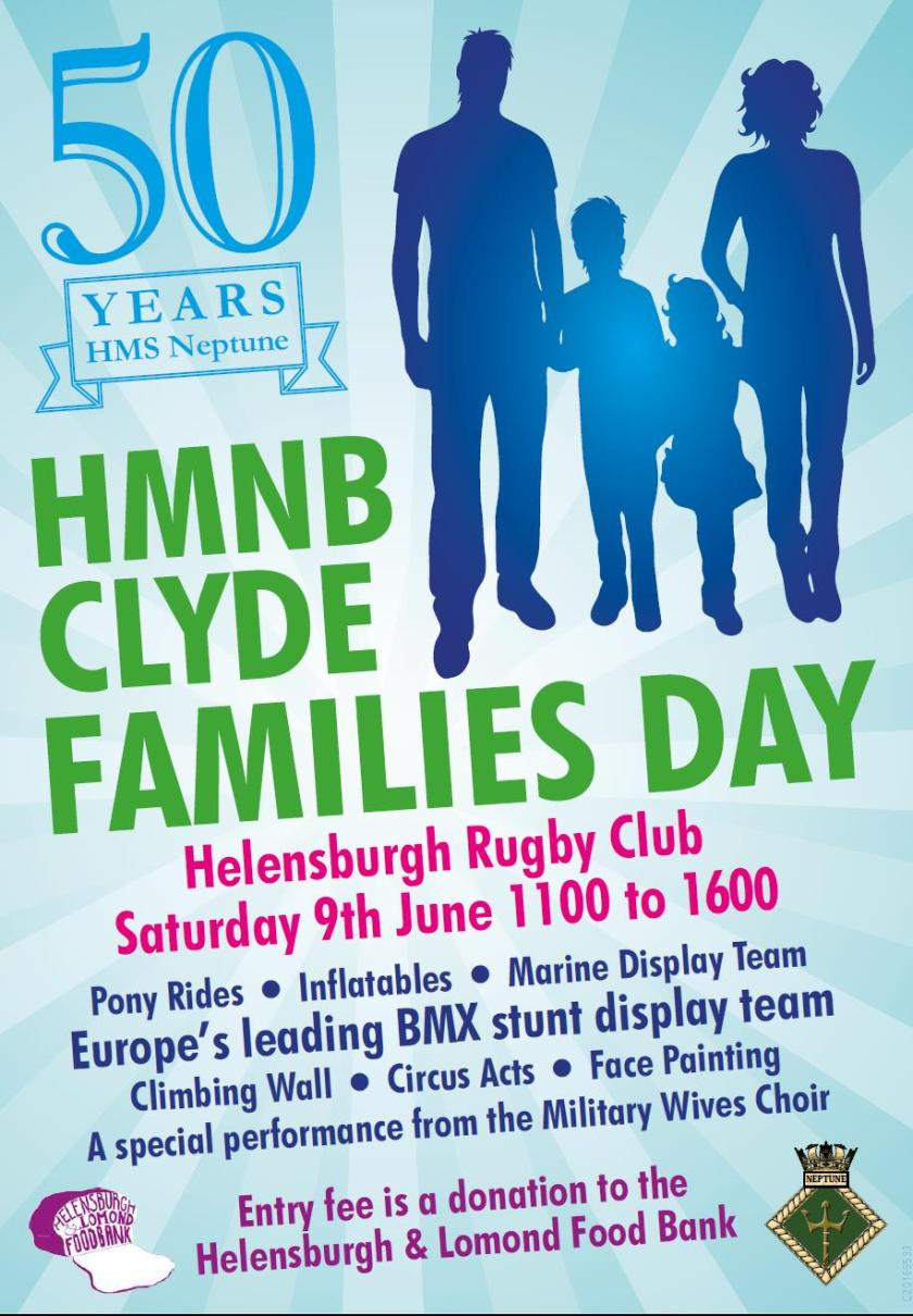 Families Day at rugby club
