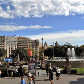Barcelona, where the planners have done a magnificent job of making the city people friendly.