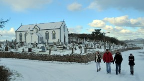 Donegal in the snow 2