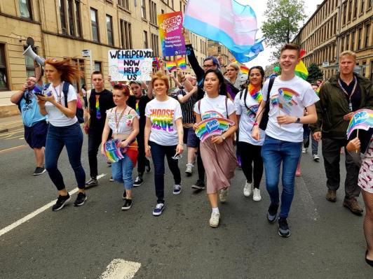 Pride walk 2