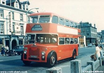 Bus 134 c Charles Billete from Helensburgh Memories