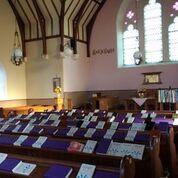 Tiree church interior