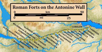 Antonine.Wall.Roman.forts