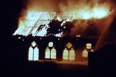 Burgh Hall fire