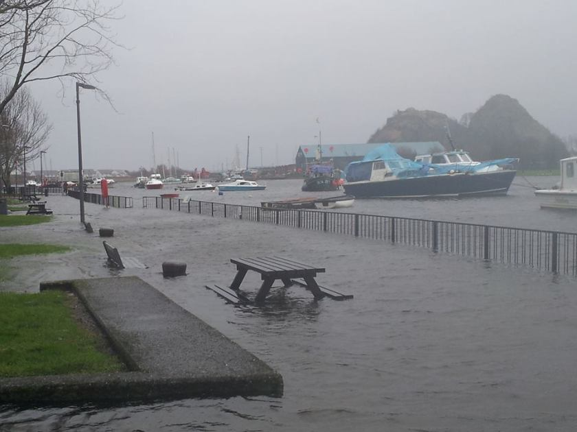 Flood at Quay 2
