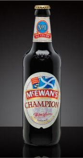 McEwan's beer bottle