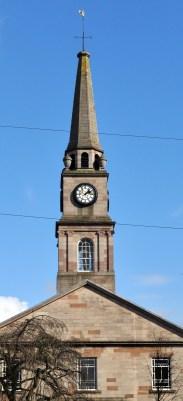 Riverside Parish Church town clock