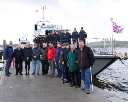 Erskine Veterans visit HMS Tracker and HMS Raider host Erskine Veterans. 20/09/18 Words to follow