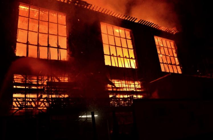 art school fire 2018