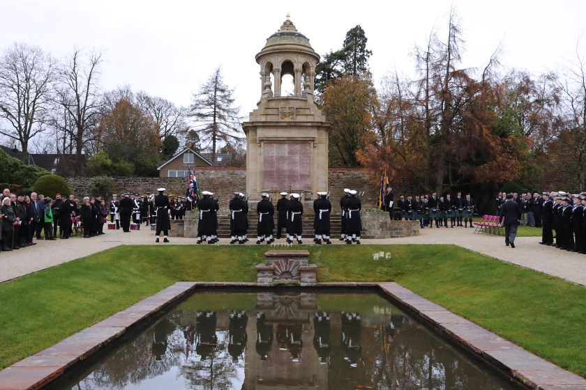Helensburgh remembrance service.