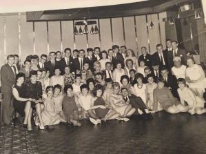 Singer workers with George Black about 1967