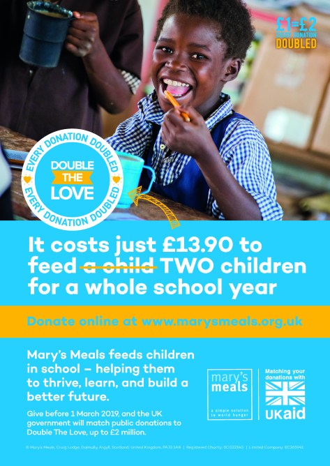Mary's Meals ad 9