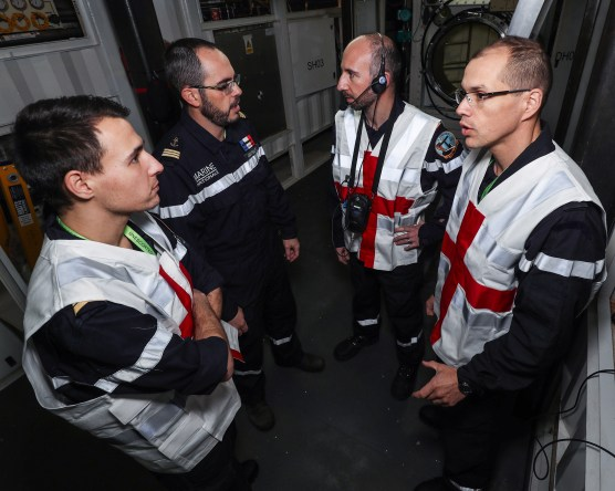 Nato Submarine Rescue Centre conducted a MASEX. Various members of NATO gathered at Faslane Naval Base to conduct a MASEX.