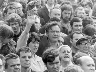 Connolly at Apprentices Strike