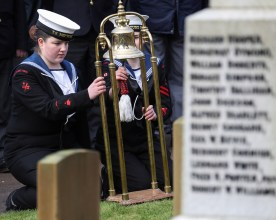 K13 Annual Remembrance Ceremony The ceremony was attended by members of the Submarine Service, Submariners Association and Sea Cadets from HMS Neptune.