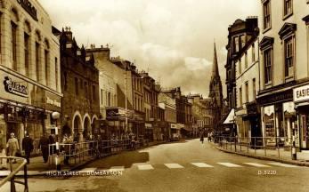 Burtons in Dumbarton High Street
