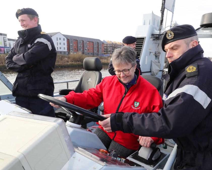 Church of Scotland visit to HMS PERSU