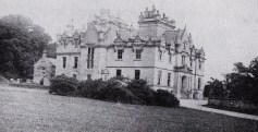 Cameron House in the middle of last century