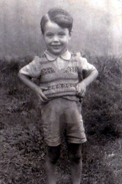 Bill Heaney at age 4