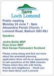 Save Loch Lomond ad