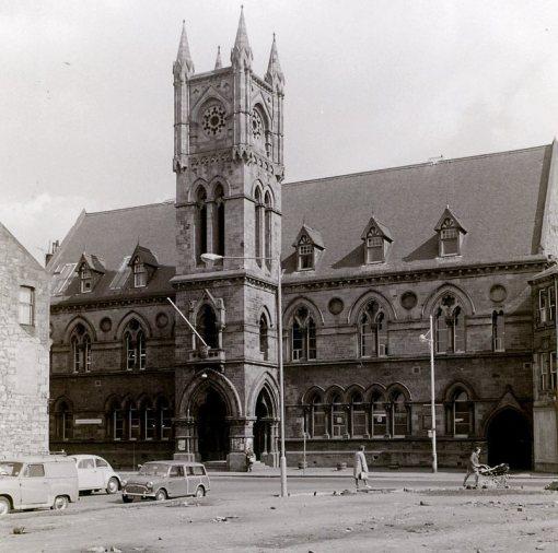Church Street and Burgh Hall
