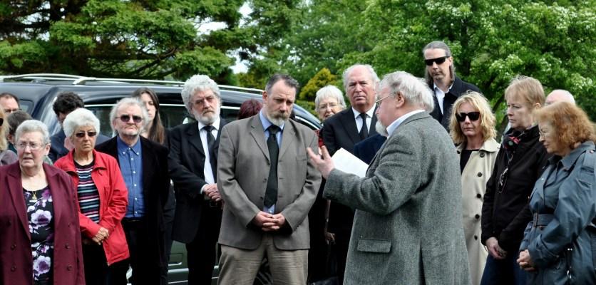 Morag funeral 1