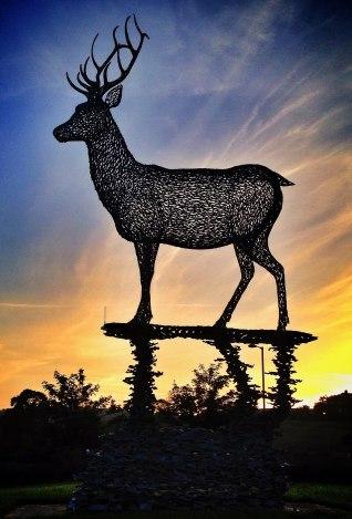 Lomondgate stag by Michael Moffat