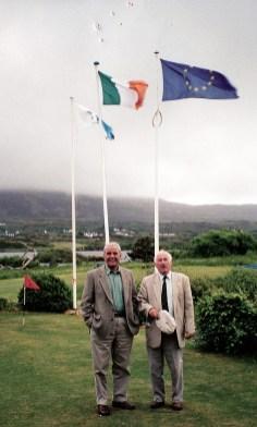 Bill and Dan in Renvyle House