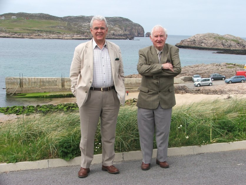 Bill and Dan Lynch in Donegal